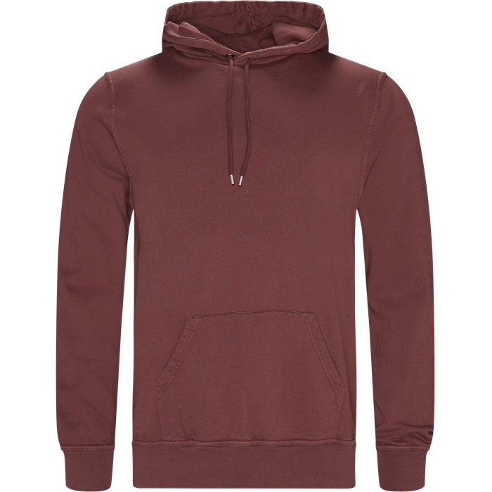 Douro Hoodie - Sweatshirts - Regular - Rød